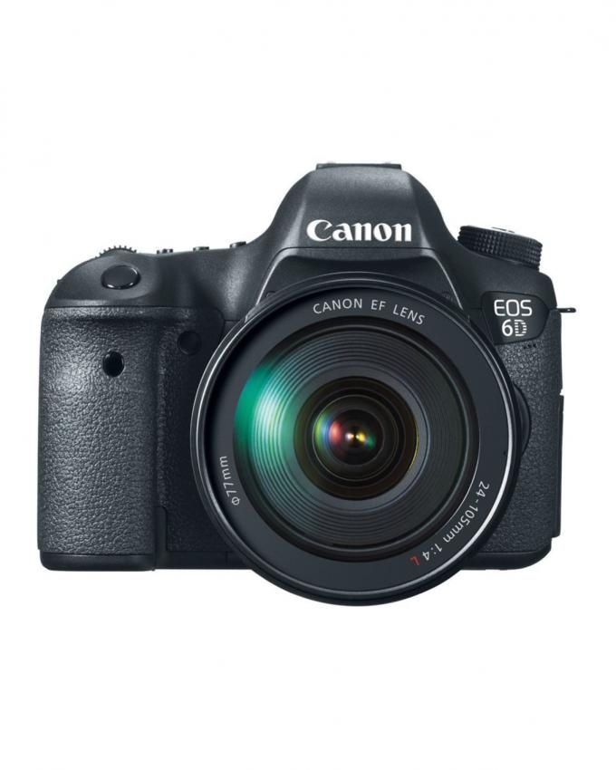 Canon EOS 6D - 20.2MP DSLR Camera with EF 24-105mm f/4L IS USM Lens