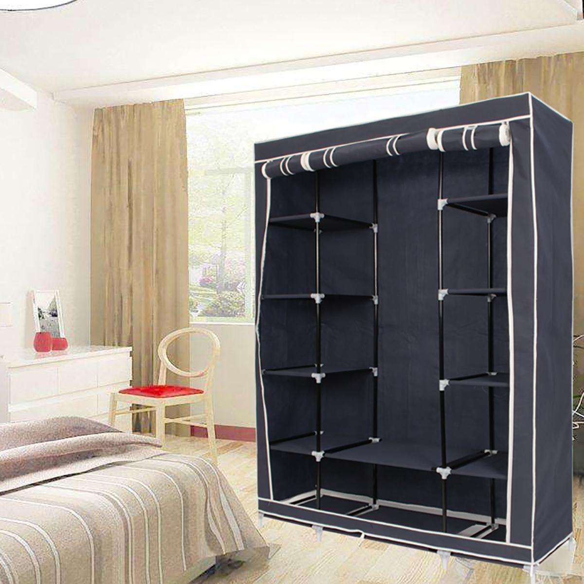 Generic Portable Closet Storage Organizers Wardrobe Clothes