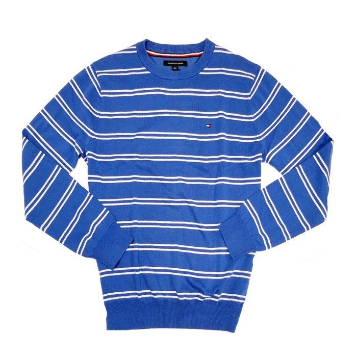 9797a065 Tommy Hilfiger Classic Double Stripe Men`s Sweater - Blue Price in ...