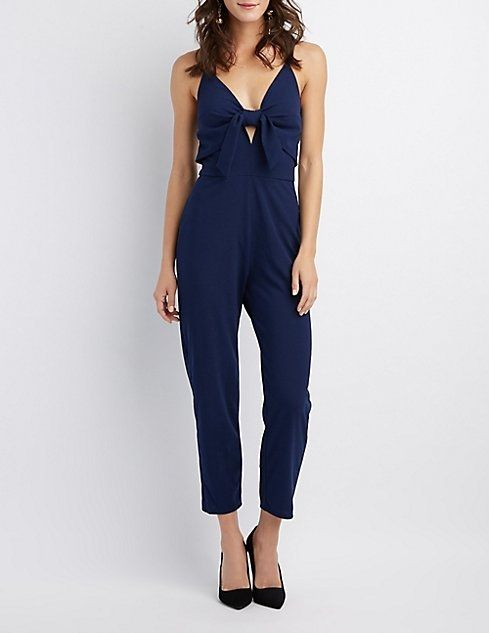 b0c0539b339b Charlotte Russe Bow-Detail Jumpsuit Price in Egypt