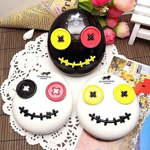 Fashion 1PC Voodoo Doll Invisible Glasses Box - Color Random