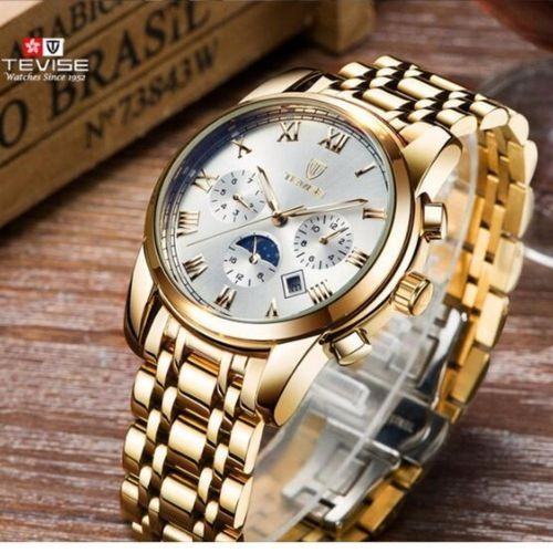 edb466c6507 Tevise TEVISE Automatic Mechanical Watches Men Watch Sport Moon Phase  Multifunction WristWatch Male Clock Automatico Relogio Masculino 9005