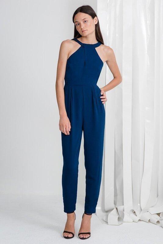 20cb529c35 Fashion Yoins Women New High Fashion Clothing Casual Sleeveless Pleated  Jumpsuit