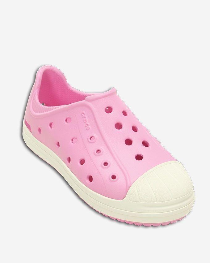 10109db46cc55 Crocs Crocs Chameleonstm Translucent Clog Kids-Lavender Carnation ...