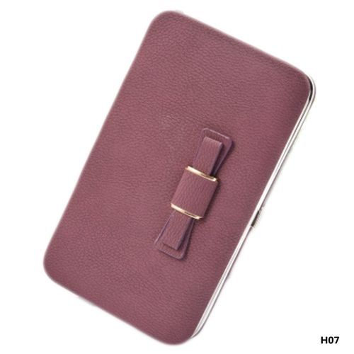 f05b8ffcdd2a Fashion Tanson Large Capacity Women Bowknot Wallets Bow Tie Pocket ...