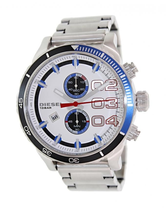 600b126f8 سعر Diesel DZ4313 Stainless Steel Watch - for Men - Silver فى مصر ...