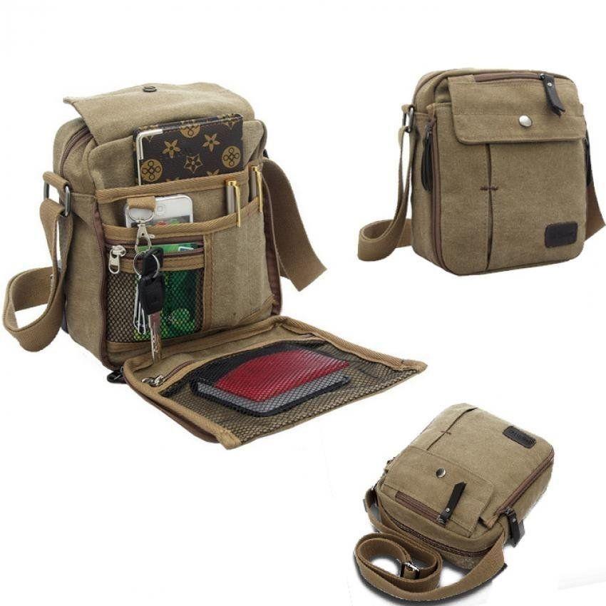 3ce5677590b Sunshine Messenger Bags Canvas Vintage Bag Shoulder Crossbody Bags ...