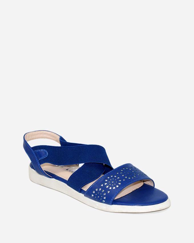 Tata Tio Cutouts Sandals - Blue