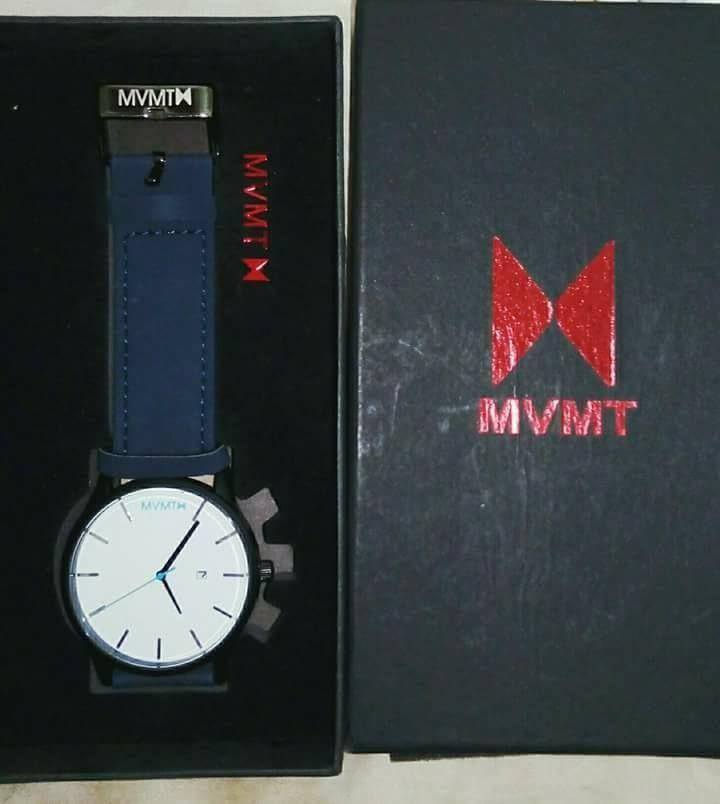 046ca4dbf سعر Mvmt ساعة جلد -للرجال-ازرق فى مصر | جوميا | ساعات | كان بكام