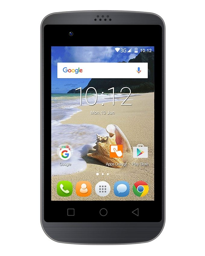 iTel it1655 - 3.5 - 4GB Dual SIM Mobile Phone - Grey
