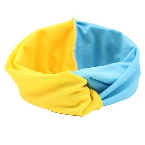 a44bb043793c Fashion Tanson Patch Turban Headband For Women Twist Stretch ...