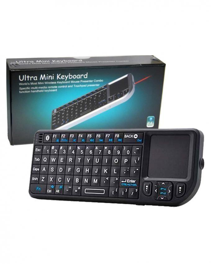 a072b7e0258 Generic RT-UMK-100-BT Bluetooth Handheld Ultra Mini Keyboard Combo Presenter