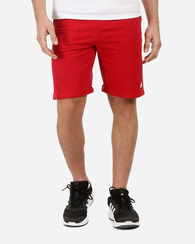 Andora Plain Comfy Short - Red