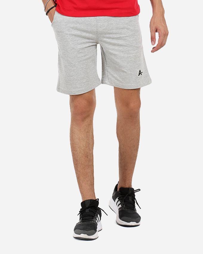 Andora Plain Comfy Short - Light Grey
