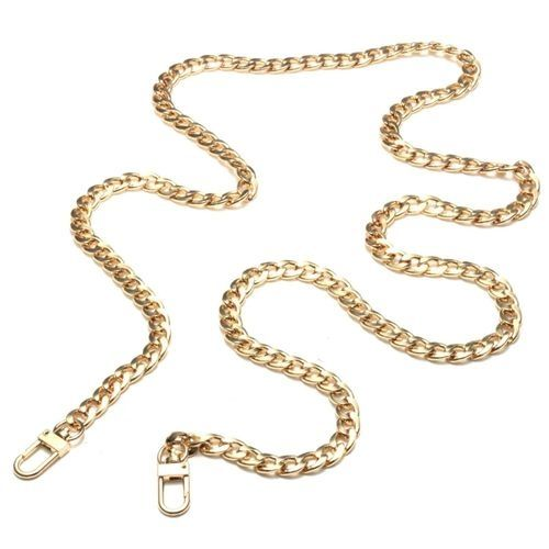 Cheap Sale Replacement Purse Chain Strap Handle Shoulder Crossbody Handbag Bag Metal 120cm Luggage & Bags