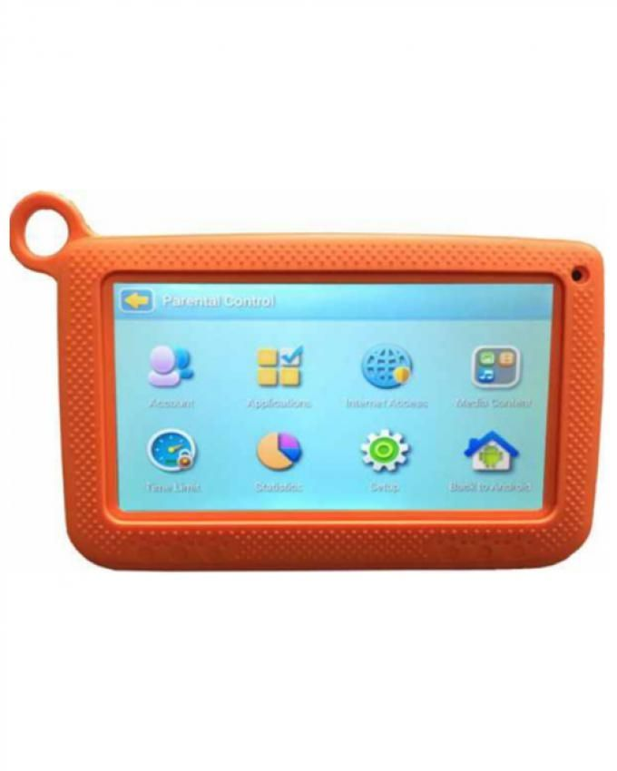 Wintouch 7'' Kids Tablet + Free Digital Watch, Screen Protector, and Touch Pen - Orange