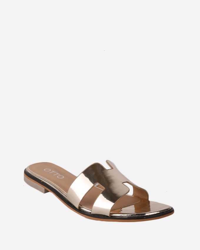 Joelle Classic Slippers - Gold