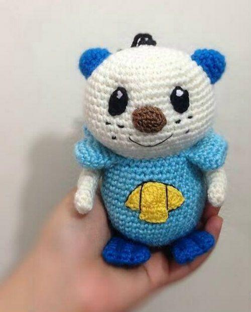 Babybee Handmade Crochet Pokemon Doll - 14   9 cm  7780d730e496