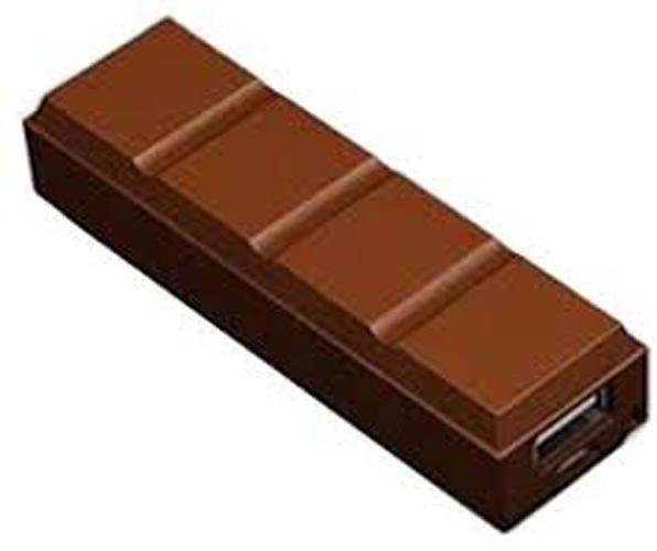 intercon Chocolate - 2600mAh Power Bank - Brown