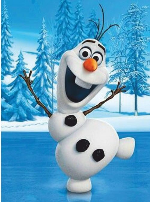 Hand Made Frozen Olaf Game Birthday