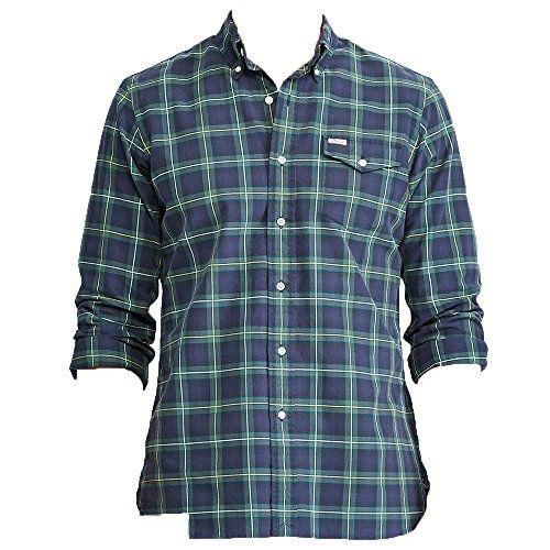 41ac55d96 US RALPH LAUREN Polo Men's Iconic Plaid Cotton Long Sleeve Oxford ...