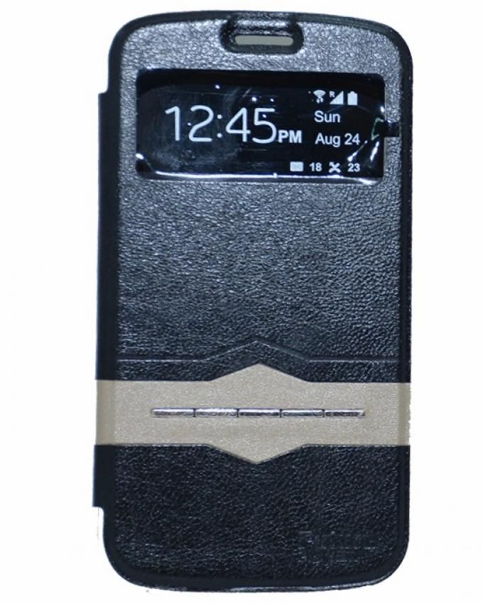 Future Power Flip Cover Sensor For Samsung Galaxy S Dous - Black