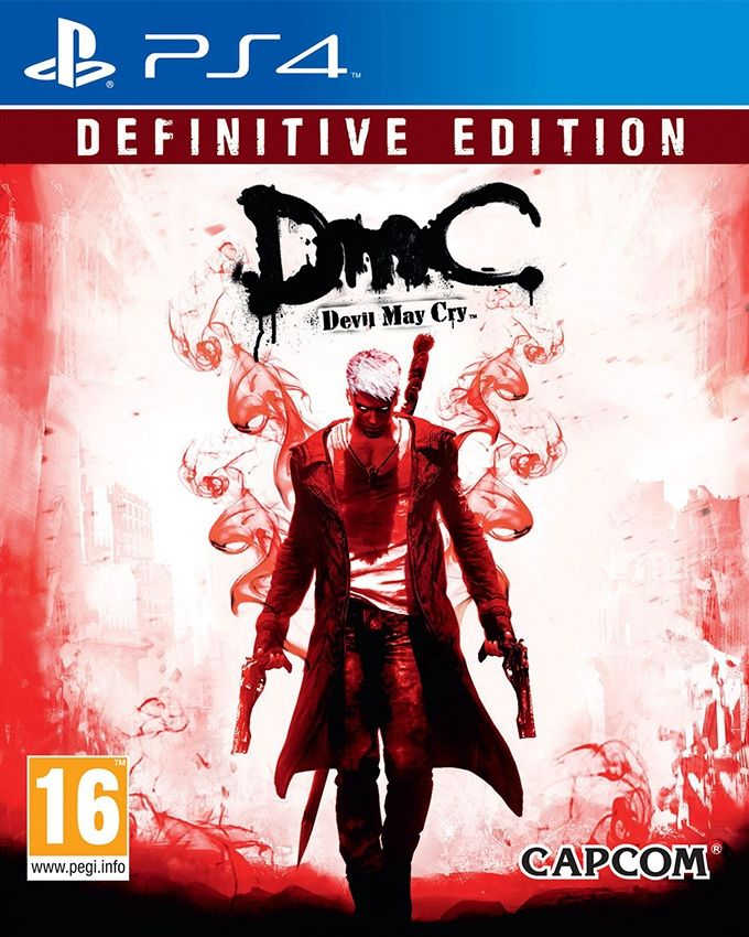 Capcom DmC: Devil May Cry: Definitive Edition - Playstation 4