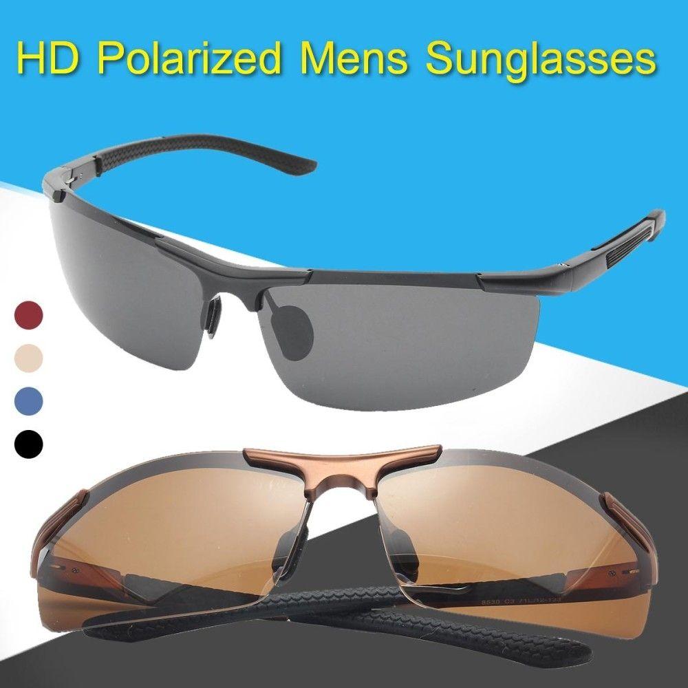 10acf06ab Fashion HD Night Vision Men Polarized Glasses Mens Eyewear Driving  Sunglasses UV400