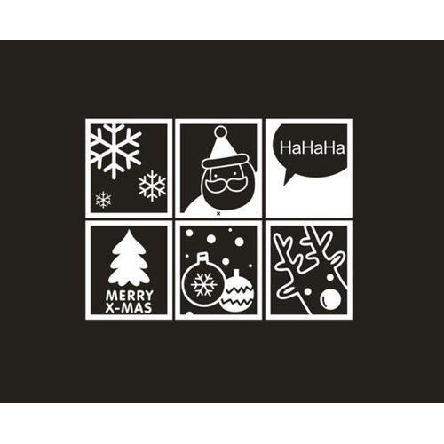 Christmas Wall Decals Removable.Skywolfeye Merry Christmas Wall Art Removable Home Vinyl