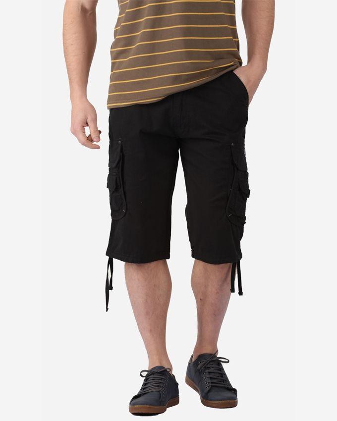 Ravin Cargo Shorts - Black
