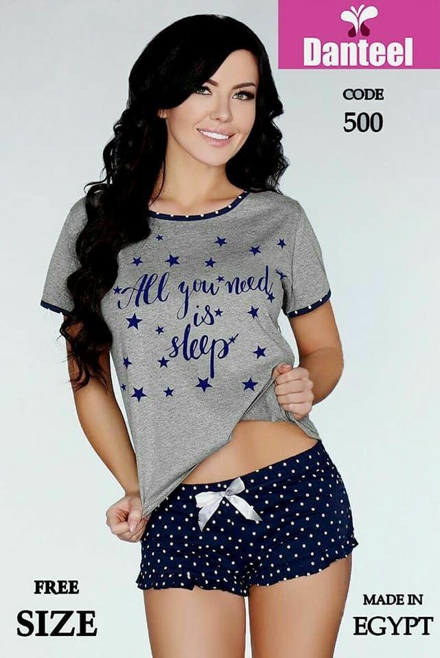 239c1f2b7cb0 Generic Cotton Hot Short Pajama - Grey Price in Egypt