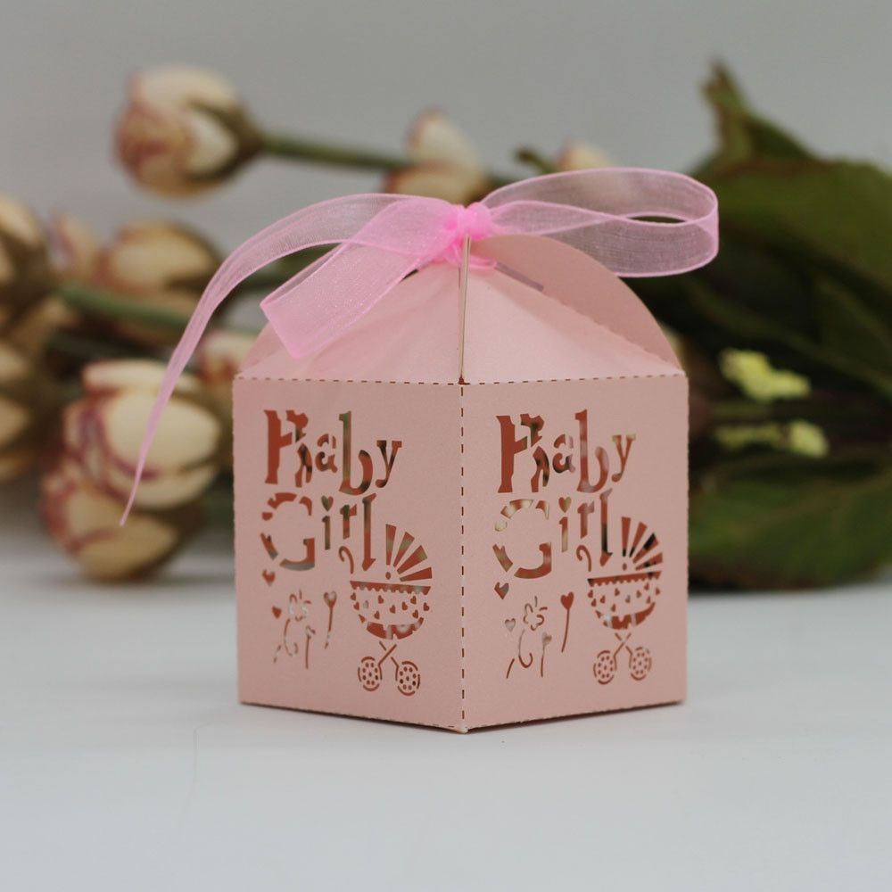 Neworldline 50Pcs Sweet Married Mariage Wedding Favor Box Gift Boxes ...