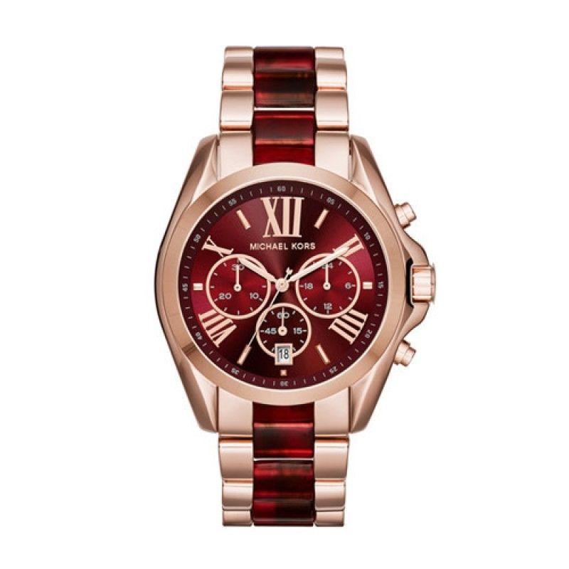 ebc8c7751313 Michael Kors MK3366 Stainless Steel Watch - Rose Gold Price in Egypt ...