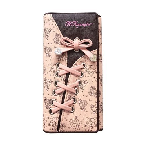 e2cf22ba2985 Fashion Tanson Women Wallet Long Band Pattern Triple Folding Hand ...