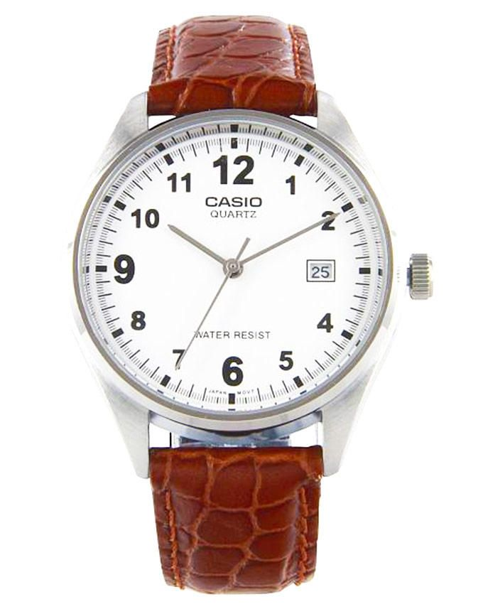 43b1aac56 سعر Casio ساعة جلد MTP-1175E-7BDF - بنى فى مصر | جوميا | ساعات | كان ...