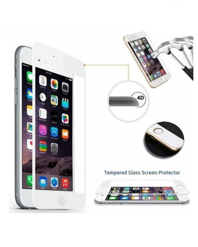 32294612a Future Power 4D Full Body Tempered Glass Screen Protector For Iphone 7 Plus  - White