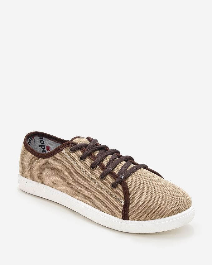 bf70cce0e Andora Sneakers Canvas Shoes - Beige | أحذية | كان بكام .كوم
