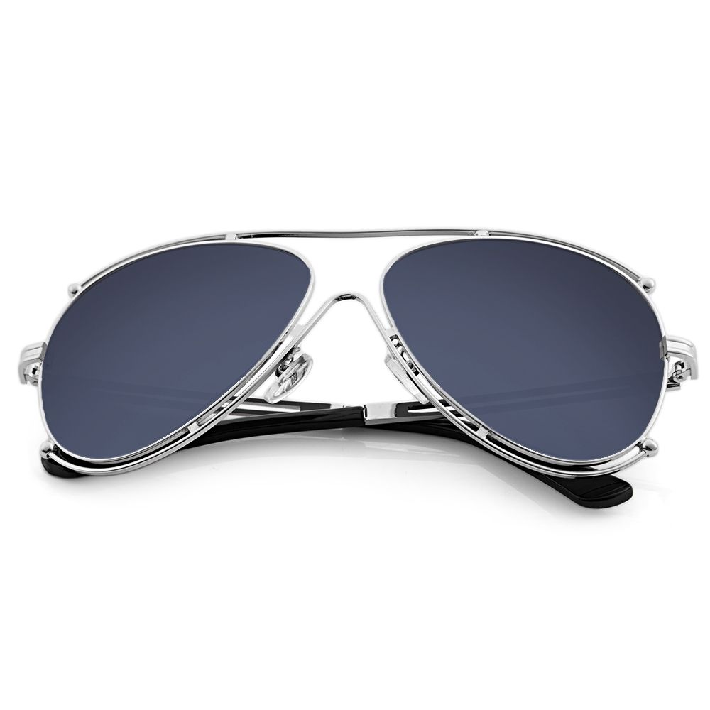 81d47e7bca Fashion Women Classical Oversize Color Coated Metal Frog Mirror - Silver+ Black. updating Prices