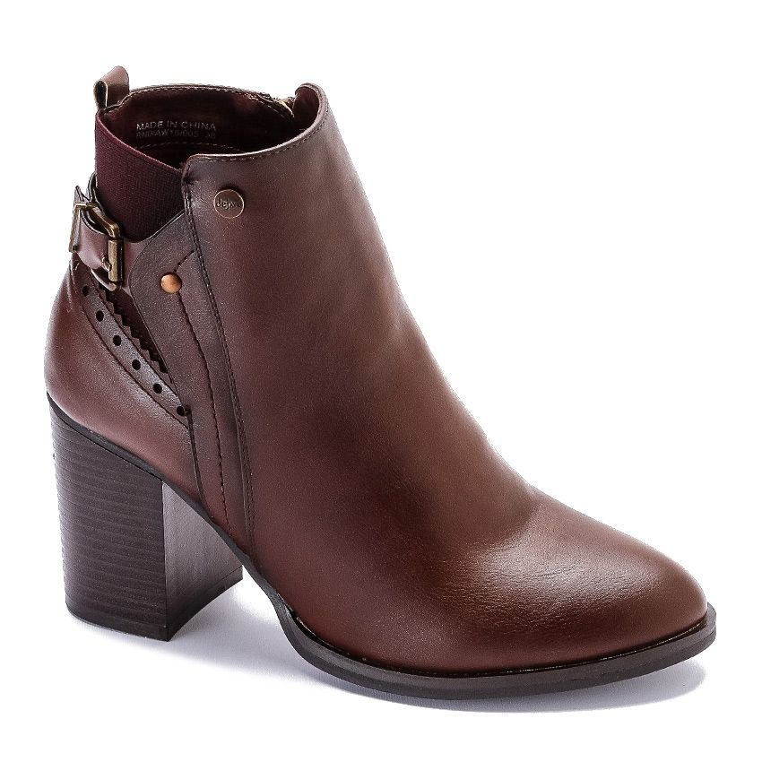 0ce04d89180b Buy Dejavu Semi Pointed Ankle Boot - Brown in Egypt