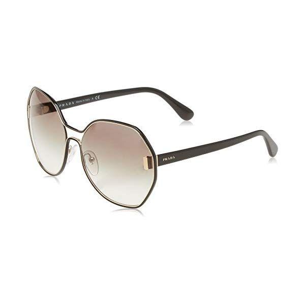 1071cb20bf norway us prada womens 0pr 53ts pale gold black grey gradient sunglasses  490a2 b4e0d