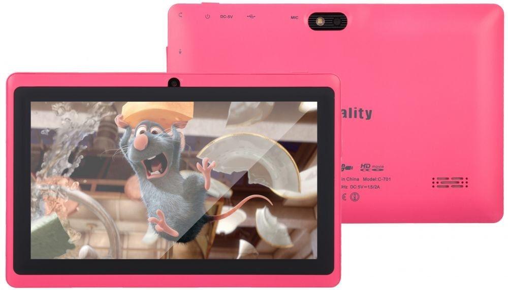 """Zentality C-701 - 7.0"""" - 8GB - 1GB Ram - Wifi - Tablet - Pink"""