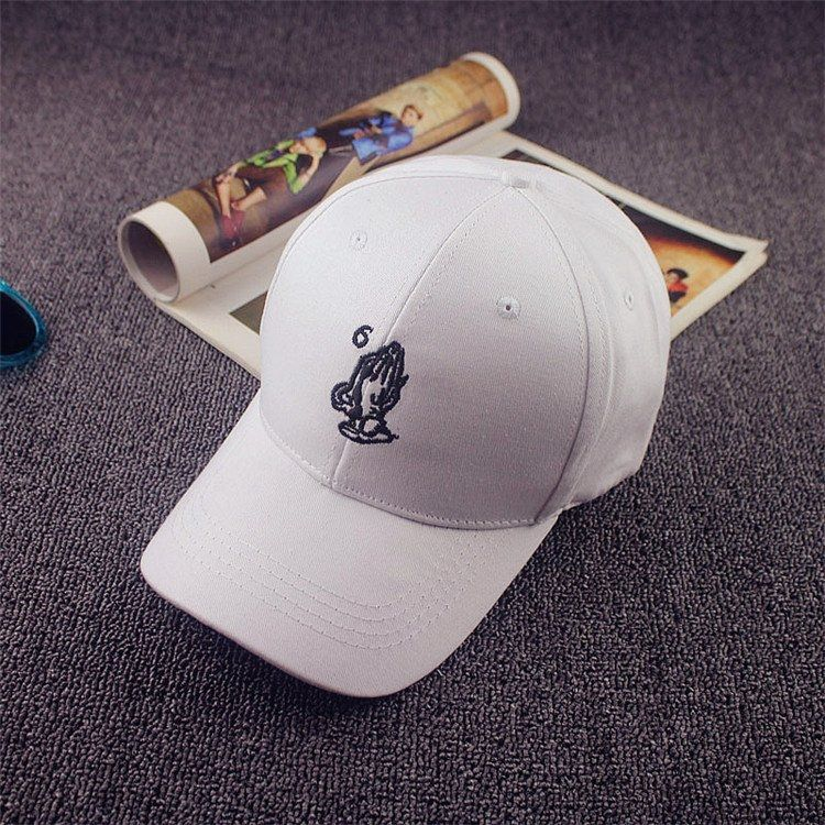 Buy Fashion Men Women Hand Peaked Hat HipHop Curved Snapback Dance Baseball  Cap Adjustable White in 8e7658c00102