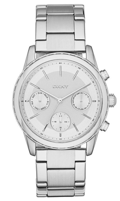 e1024939c8a7a DKNY NY2349 Stainless Steel Watch - Silver
