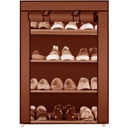 6c03e6a0ed9 Generic 4-5 Layer Shoe Rack Organizer - Brown