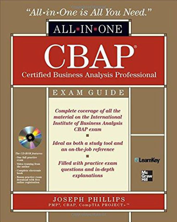 Cbap Certified Business Analysis Professional All In One Exam Guide