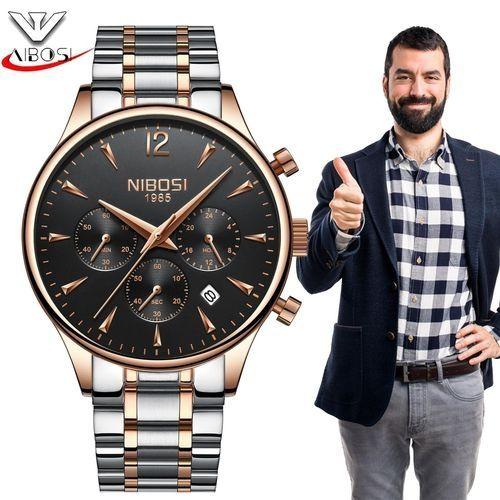 Nibosi Relogio Masculino NIBOSI Top Brand Luxury Watches Men ... 92f39a7a57f
