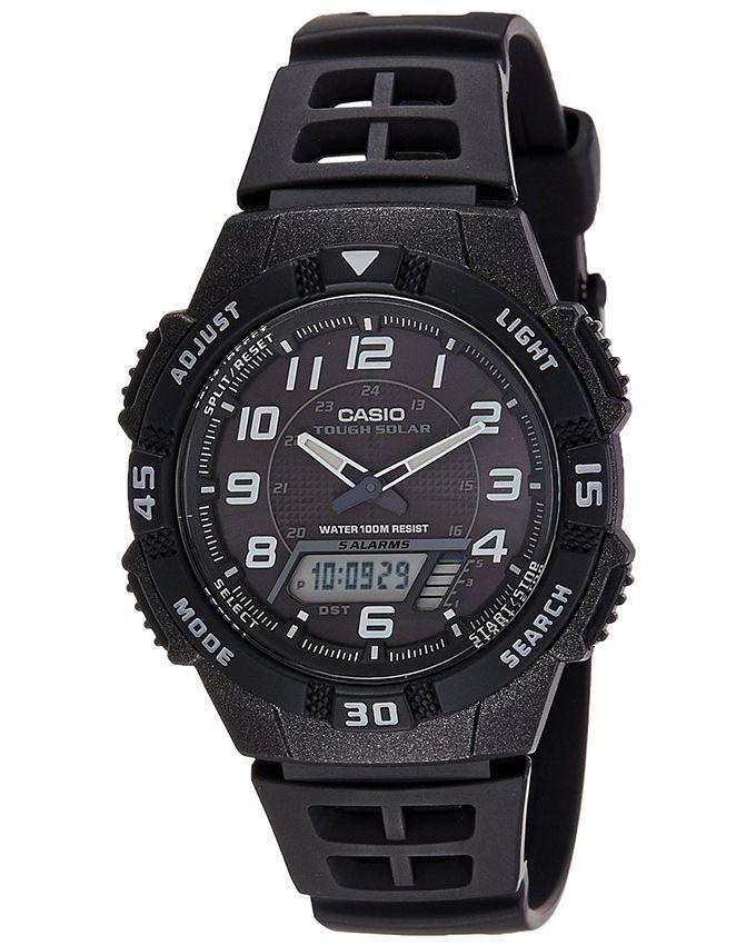 72b13e50cac27 Casio AQ-S800W-1BVDF ساعة من البلاستيك المطاط - أسود. 1