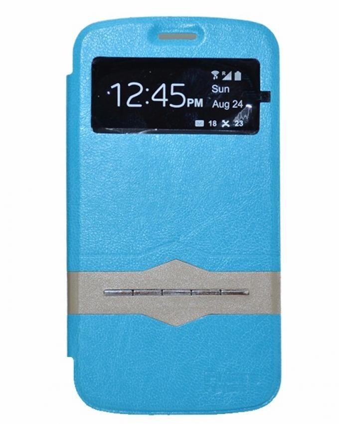 Future Power Flip Cover Sensor For Samsung Galaxy Star Plus2 - Blue