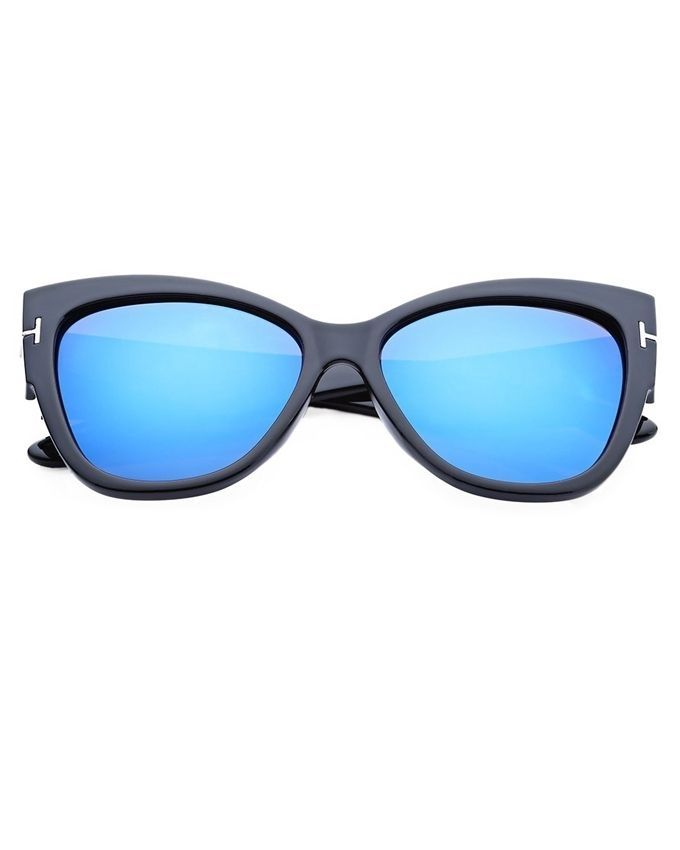 7d8accb472 Buy Fashion Women s Cat Eyes Frame Sunglasses Mercury in Egypt