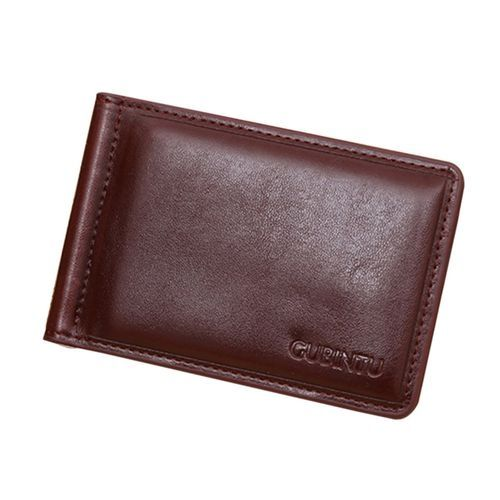 0000c9f958 Buy Generic TB New Soft GUBINTU Man Purse Men PU Leather Horizontal Opening  Style Wallet Coffee